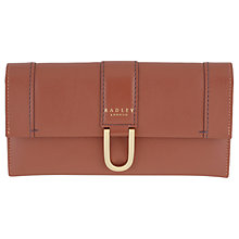Buy Radley Primrose Hill Leather Large Matinee Purse, Paprika Online at johnlewis.com