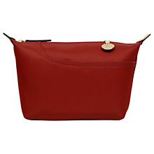 Buy Radley Pocket Essentials Fabric Medium Pouch Bag, Paprika Online at johnlewis.com