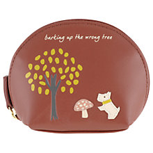Buy Radley The Wrong Tree Leather Small Zip Around Coin Purse Online at johnlewis.com