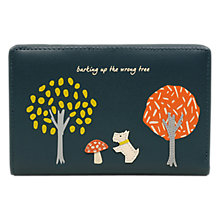 Buy Radley The Wrong Tree Leather Medium Purse, Pine Online at johnlewis.com