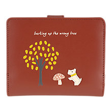Buy Radley The Wrong Tree Leather Medium Foldout Purse Online at johnlewis.com