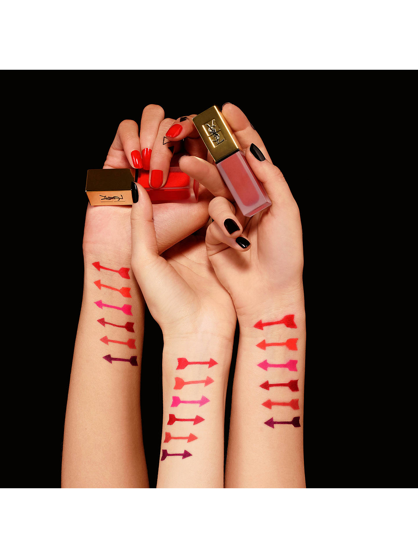 BuyYves Saint Laurent Tatouage Couture Liquid Lipstick, 11 Rose Illicite Online at johnlewis.com