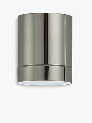 John Lewis U0026 Partners Billy LED Outdoor Wall Light, Steel