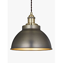 Ceiling lighting furniture lights john lewis buy john lewis baldwin pendant ceiling light online at johnlewis aloadofball Gallery