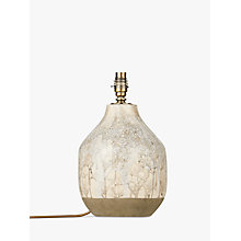 Buy Croft Collection Eren Ceramic Lamp Base, Grey Online at johnlewis.com