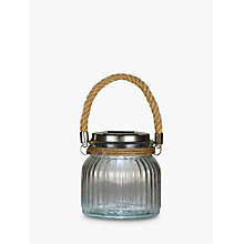Buy John Lewis Flint Solar Glass Outdoor Light Online at johnlewis.com