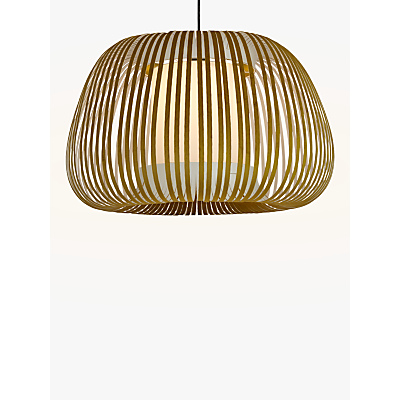 Product photo of John lewis harmony velvet ribbon ceiling light large olive