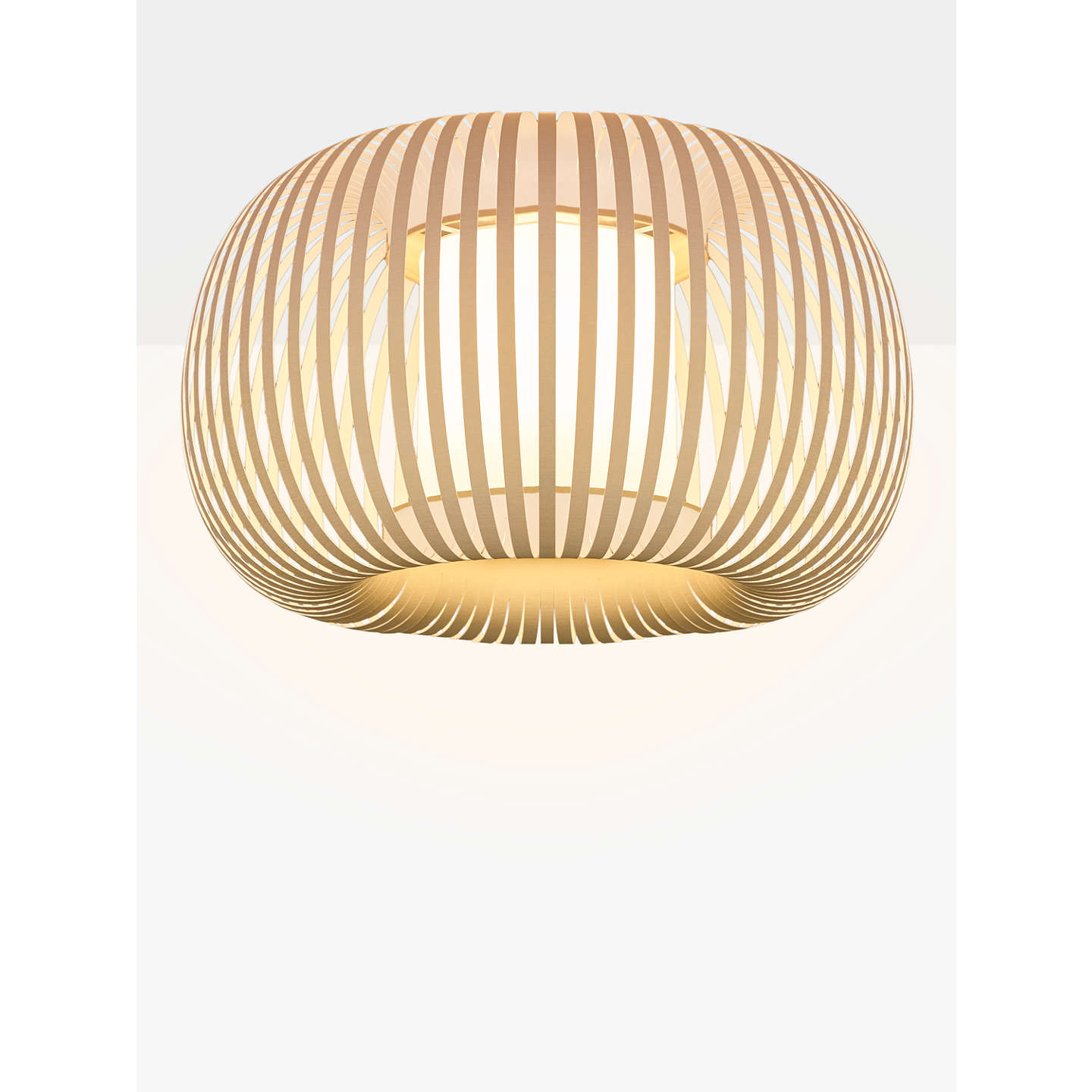 John lewis harmony ribbon semi flush ceiling light natural at john buyjohn lewis harmony ribbon semi flush ceiling light natural online at johnlewis aloadofball Images
