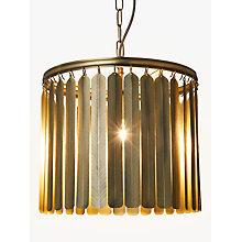 Buy John Lewis Indriya Ceiling Light, Antique Brass Online at johnlewis.com