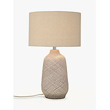 Buy John Lewis Iona Large Table Lamp, Purple Online at johnlewis.com