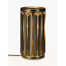Buy John Lewis Indira Table Lamp, Antique Brass Online at johnlewis.com
