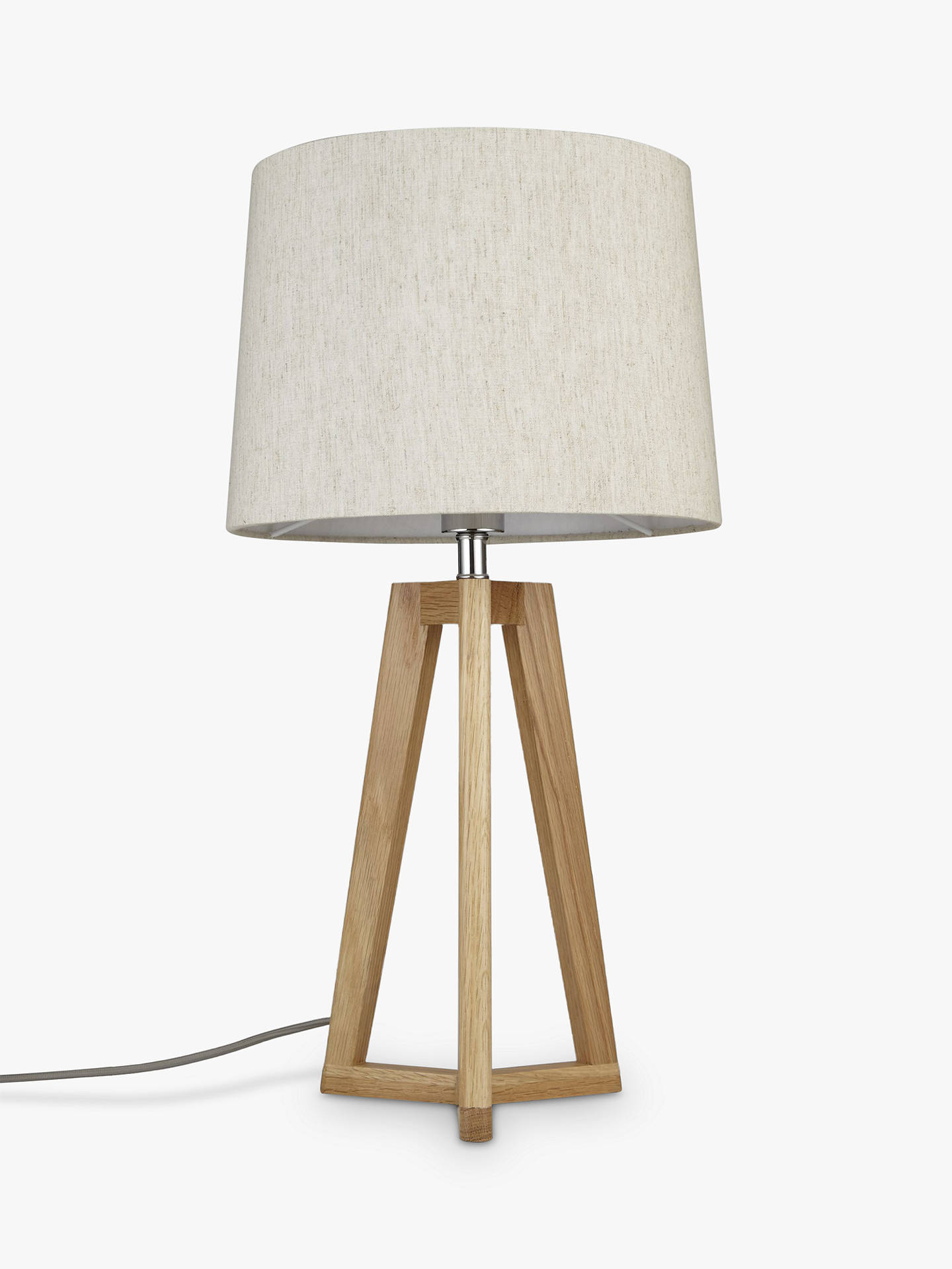 BuyJohn Lewis & Partners Brace Table Lamp, FSC-Certified (Oak) Online at johnlewis.com