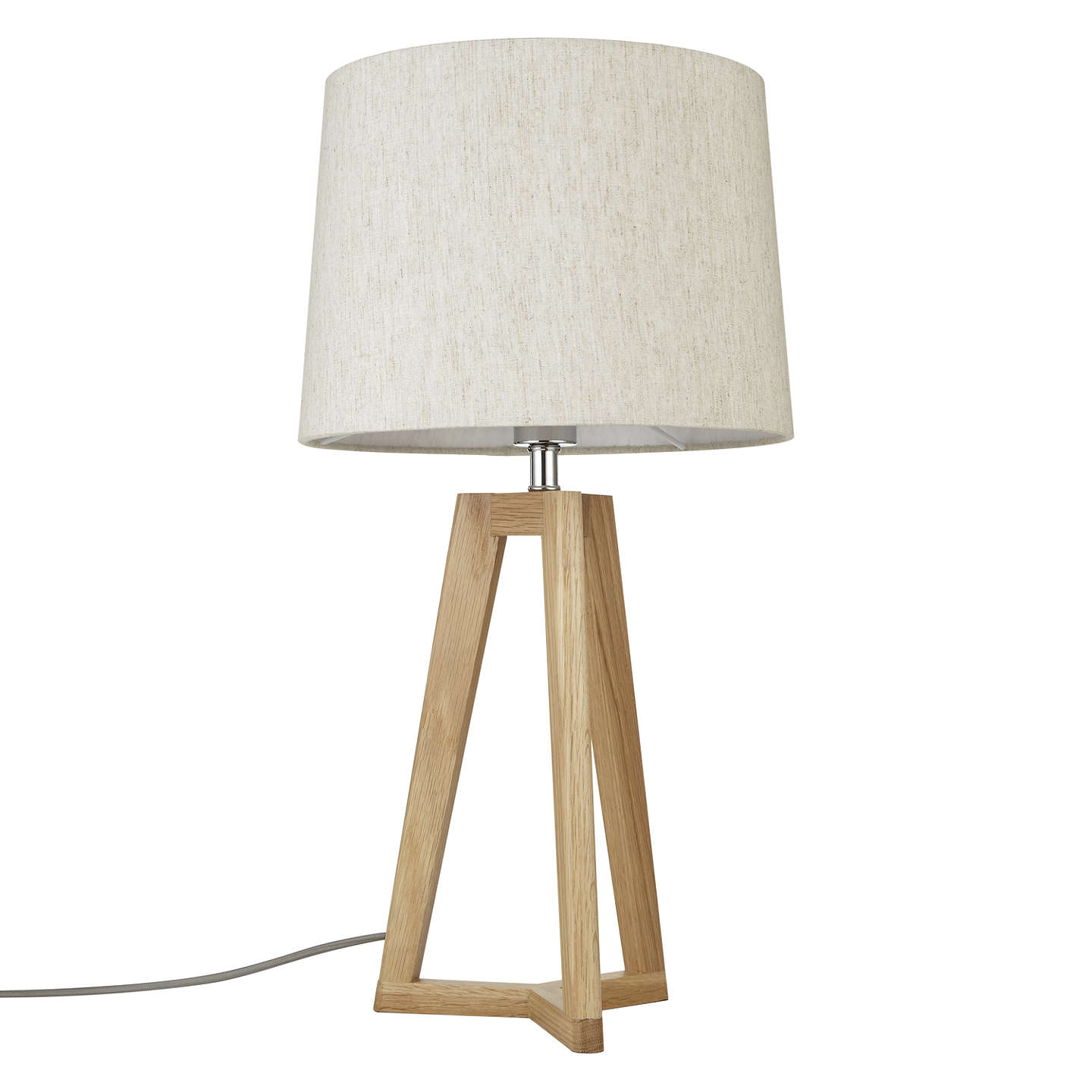 BuyJohn Lewis Brace Table Lamp, FSC-Certified (Oak) Online at johnlewis.com