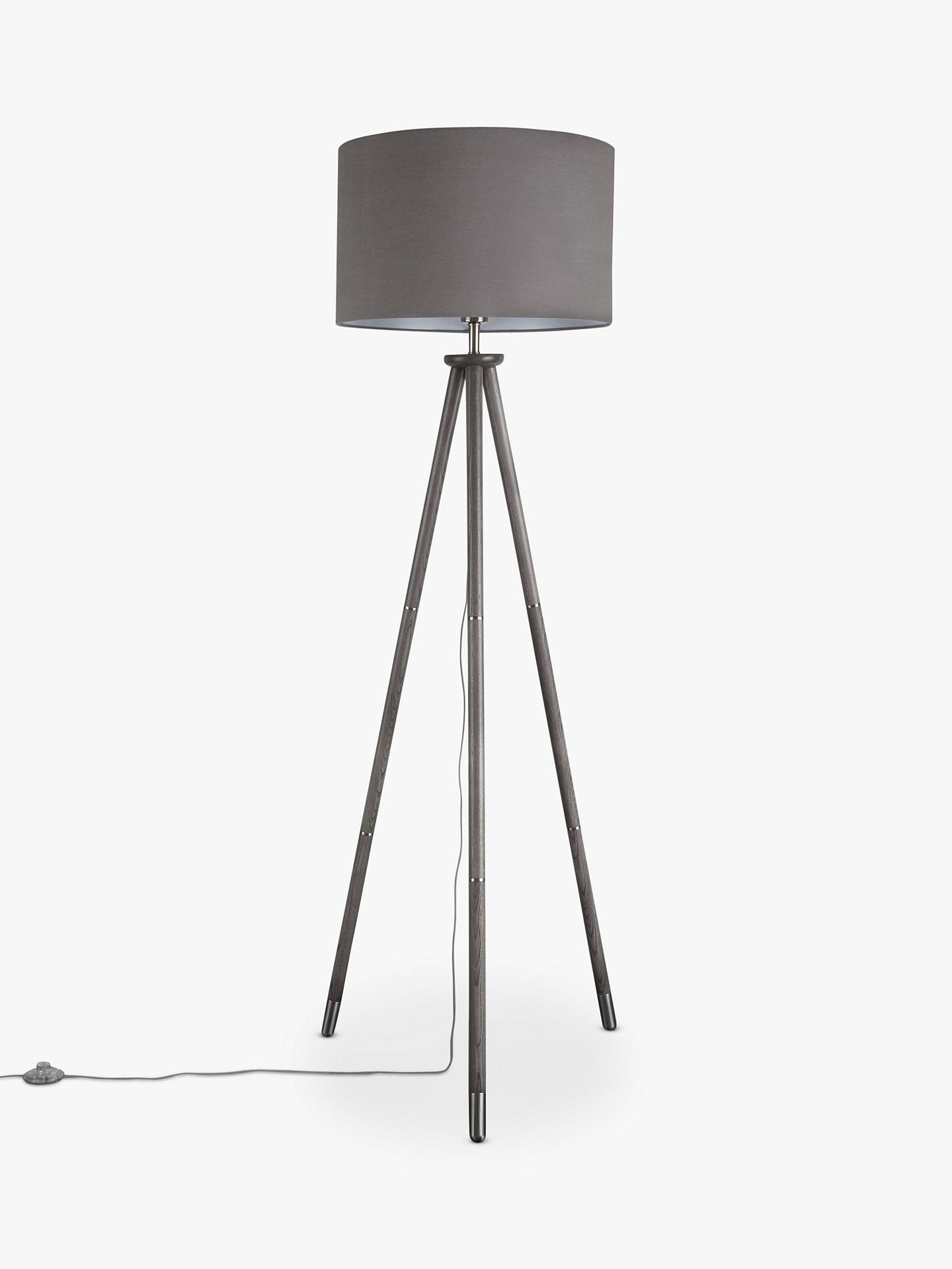 Buy John Lewis & Partners Bruce Tripod Floor Lamp, FSC-Certified (Ash) Online at johnlewis.com