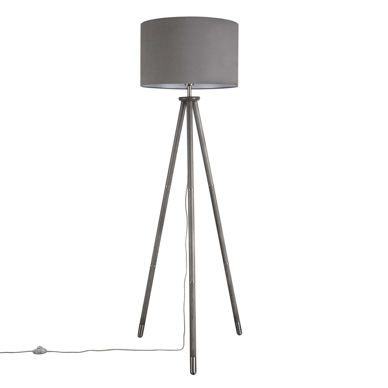 John Lewis Bruce Tripod Floor Lamp, FSC-Certified (Ash) at John Lewis
