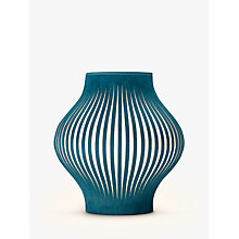 Buy John Lewis Harmony Velvet Ribbon Mini Table Lamp, Kingfisher Online at johnlewis.com