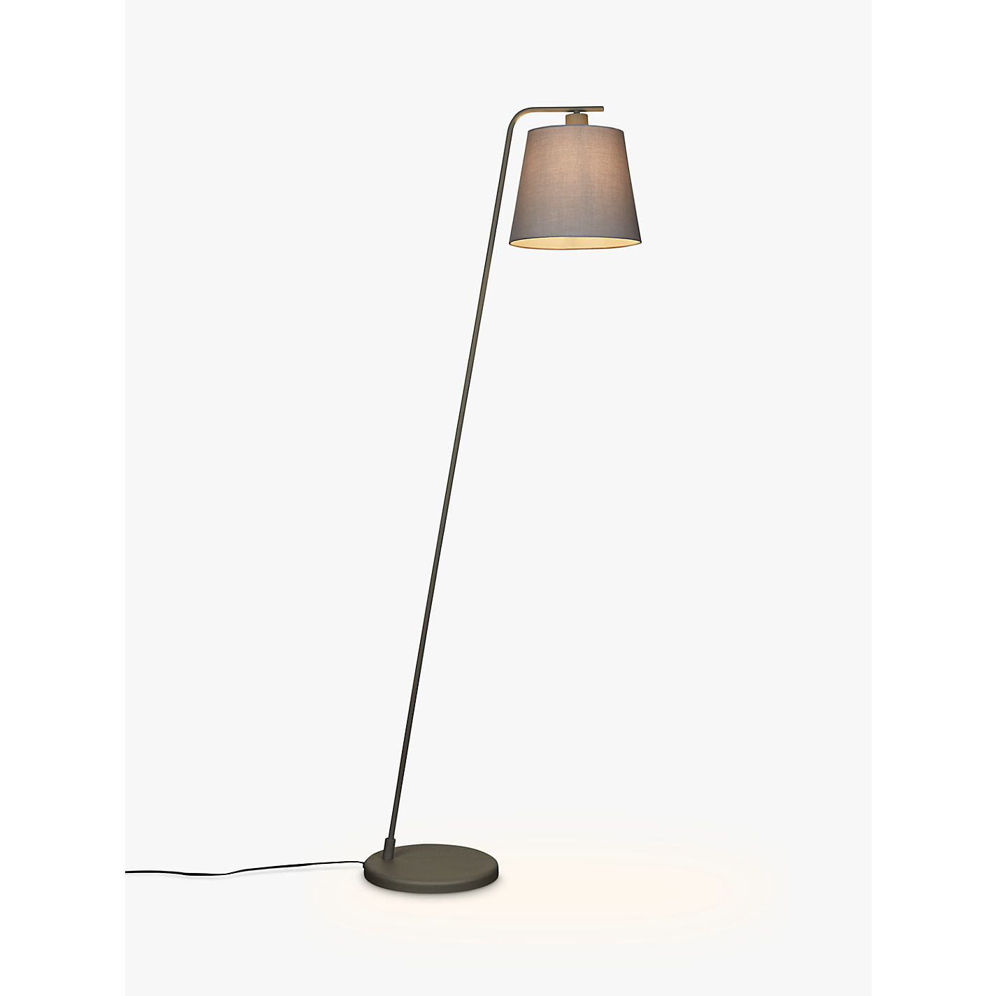 Floor lamps furniture lights john lewis buy house by john lewis harry floor lamp grey online at johnlewis aloadofball Images