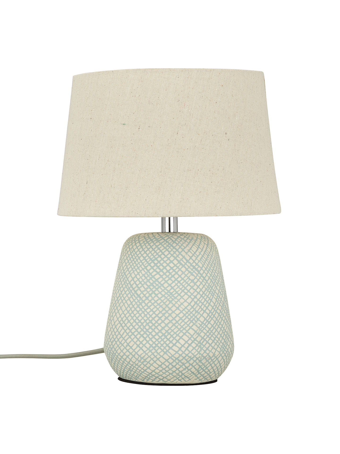 ... BuyJohn Lewis U0026 Partners Iona Small Table Lamp, Teal Online At  Johnlewis. ...