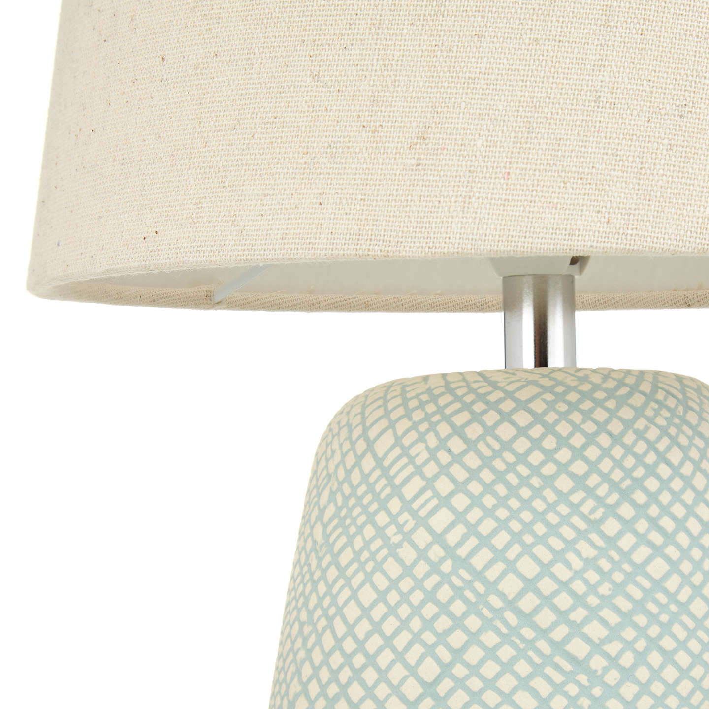 BuyJohn Lewis Iona Small Table Lamp, Teal Online at johnlewis.com