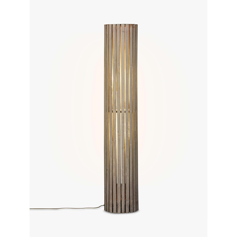 John lewis helston wooden slatted cylinder floor lamp grey at john buyjohn lewis helston wooden slatted cylinder floor lamp grey online at johnlewis mozeypictures Gallery