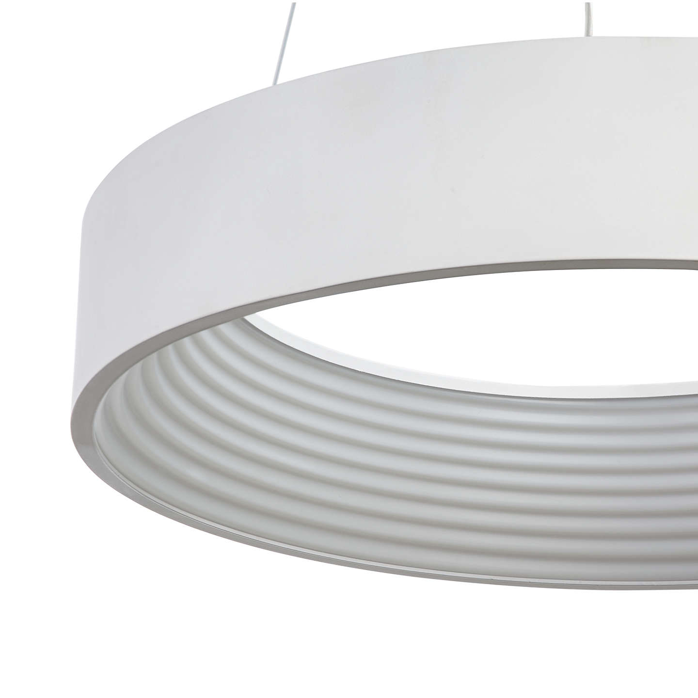 John lewis leif small led ribbed hoop ceiling light white at john lewis buyjohn lewis leif small led ribbed hoop ceiling light white online at johnlewis aloadofball Image collections