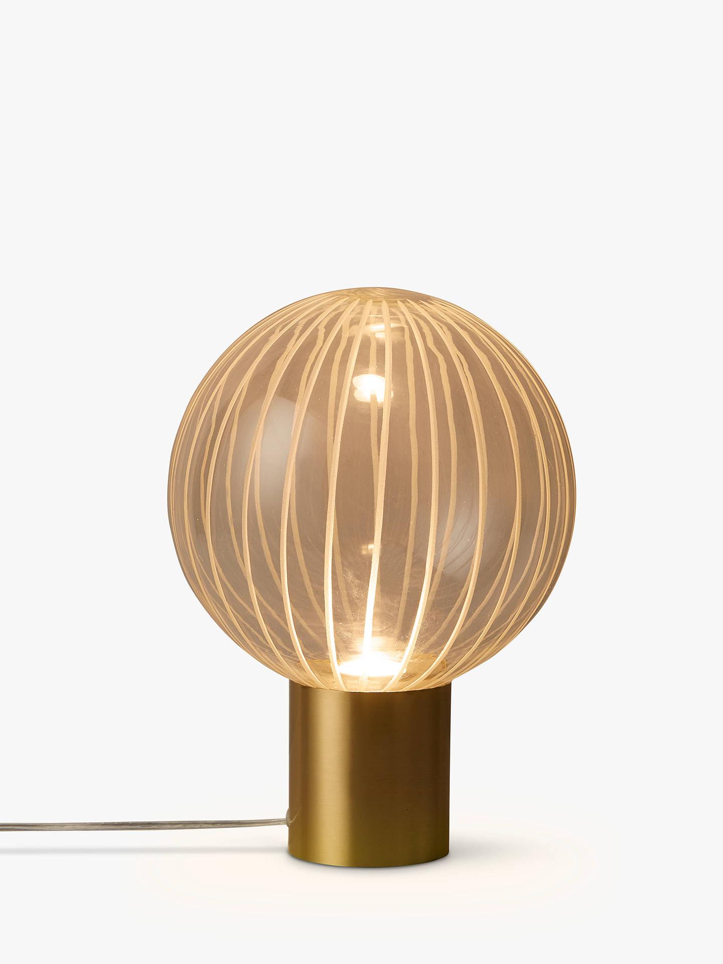 0040c8c3aebd Buy John Lewis & Partners Marlo LED Table Lamp, Gold Online at johnlewis.  ...