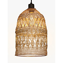 Buy John Lewis Easy-to-Fit Papri Steel Ceiling Shade, Copper Online at johnlewis.com