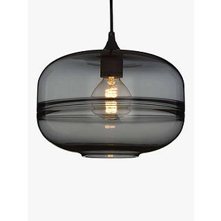 Ceiling lights new season lighting john lewis john lewis semper smoked glass ceiling light smoke mozeypictures Images
