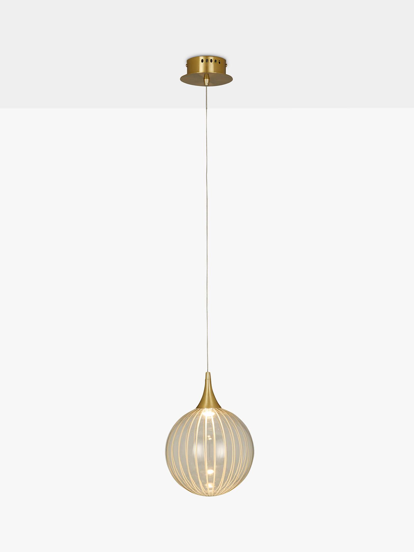 b9d749032ce3 Buy John Lewis & Partners Marlo LED Ceiling Light, Gold Online at johnlewis.  ...