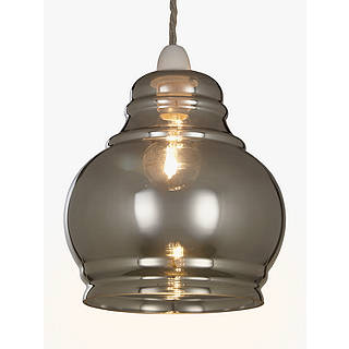 Pendant ceiling lighting john lewis john lewis sonny easy to fit ceiling shade silver aloadofball Choice Image