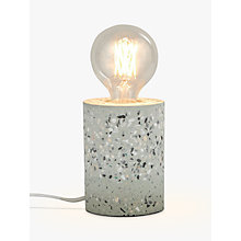 Buy House by John Lewis Terazzo Ceramic Bulbholder Table Lamp Online at johnlewis.com