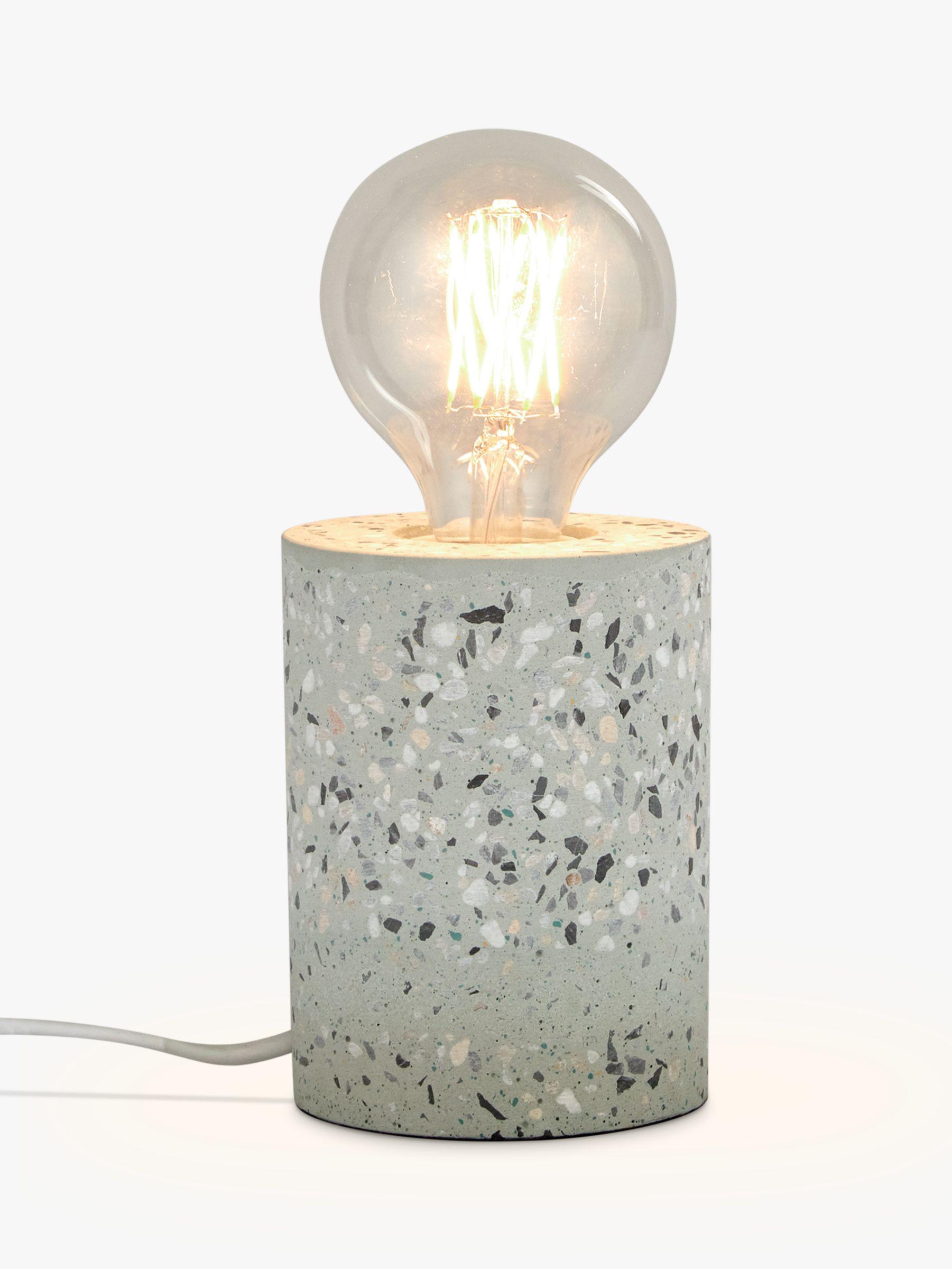 House By John Lewis Terrazzo Ceramic Bulbholder Table Lamp Blue Multi At John Lewis Partners