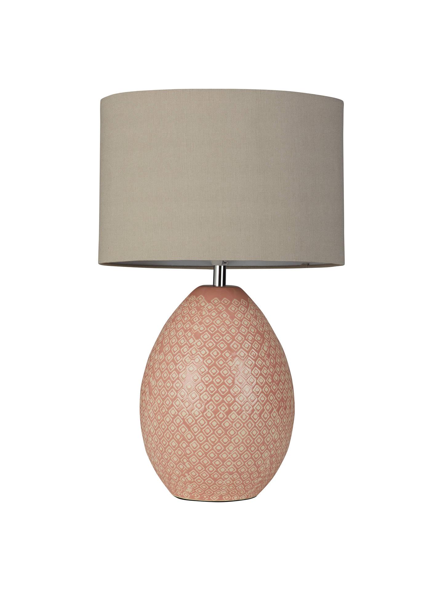 Ceramic Mini LED Accent Lamp Pink