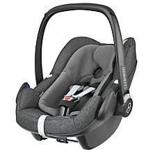 Buy Maxi-Cosi Pebble Plus i-Size Group 0+ Baby Car Seat, Triangle Black Online at johnlewis.com