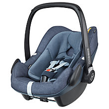 Buy Maxi-Cosi Pebble Plus i-Size Group 0+ Baby Car Seat, Nomad Blue Online at johnlewis.com