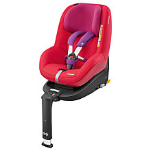 Buy Maxi-Cosi 2wayPearl i-Size Group 1 Car Seat, Red Orchid Online at johnlewis.com