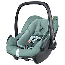 Buy Maxi-Cosi Pebble Plus i-Size Group 0+ Baby Car Seat, Nomad Green Online at johnlewis.com
