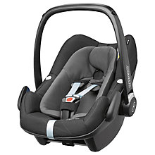 Buy Maxi-Cosi Pebble Plus i-Size Group 0+ Baby Car Seat, Black Diamond Online at johnlewis.com
