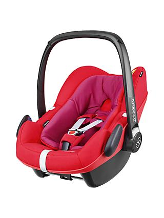 Maxi Cosi Pebble Plus I Size Group 0 Baby Car Seat Red