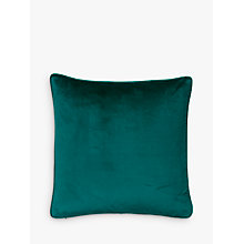 Buy John Lewis Lustre Velvet Cushion Online at johnlewis.com