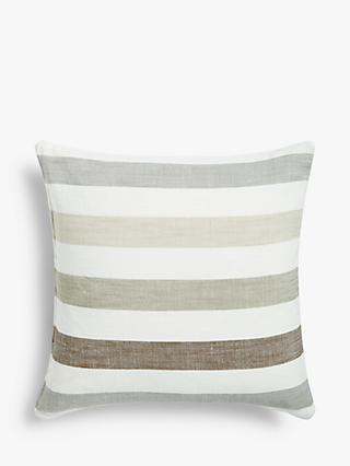 ANYDAY John Lewis & Partners Penzance Stripe Cushion