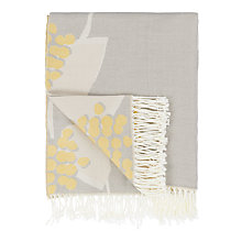 Buy John Lewis Stellan Throw, Citrine Online at johnlewis.com