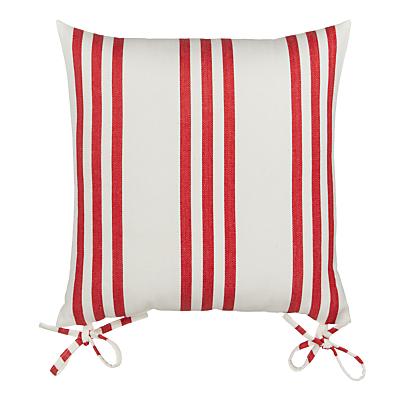 John Lewis Herringbone Stripe Seat Pad