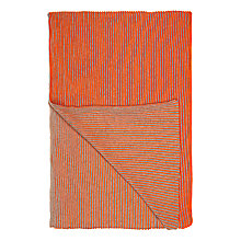 Buy John Lewis Rib Knit Throw Online at johnlewis.com
