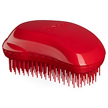 Buy Tangle Teezer Detangling Thick & Curly Hairbrush, Red Online at johnlewis.com