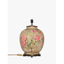 Buy Jenny Worrall Large Flower Lamp Base, Pink Online at johnlewis.com