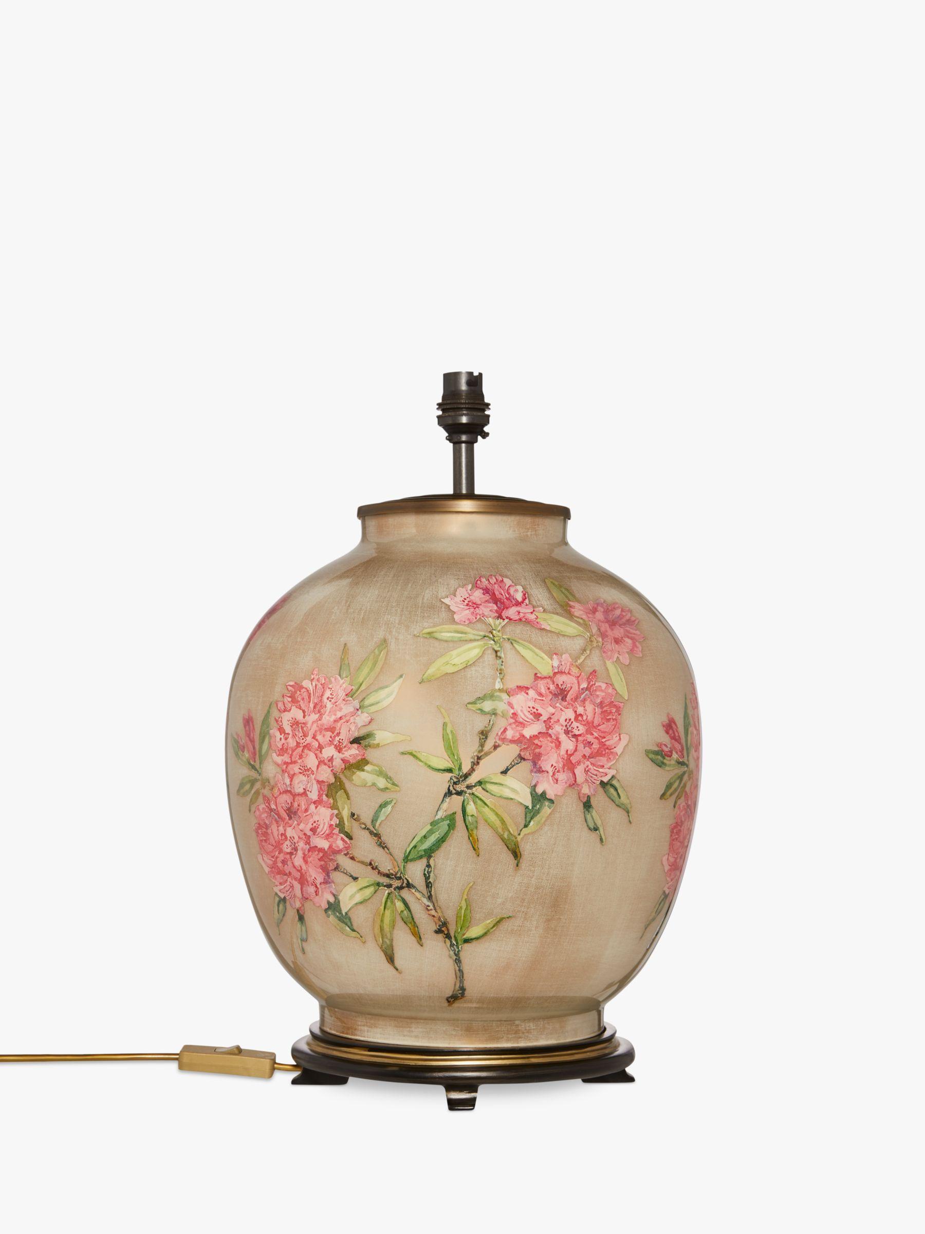 Jenny Worrall Jenny Worrall Large Flower Lamp Base, Pink, H42cm