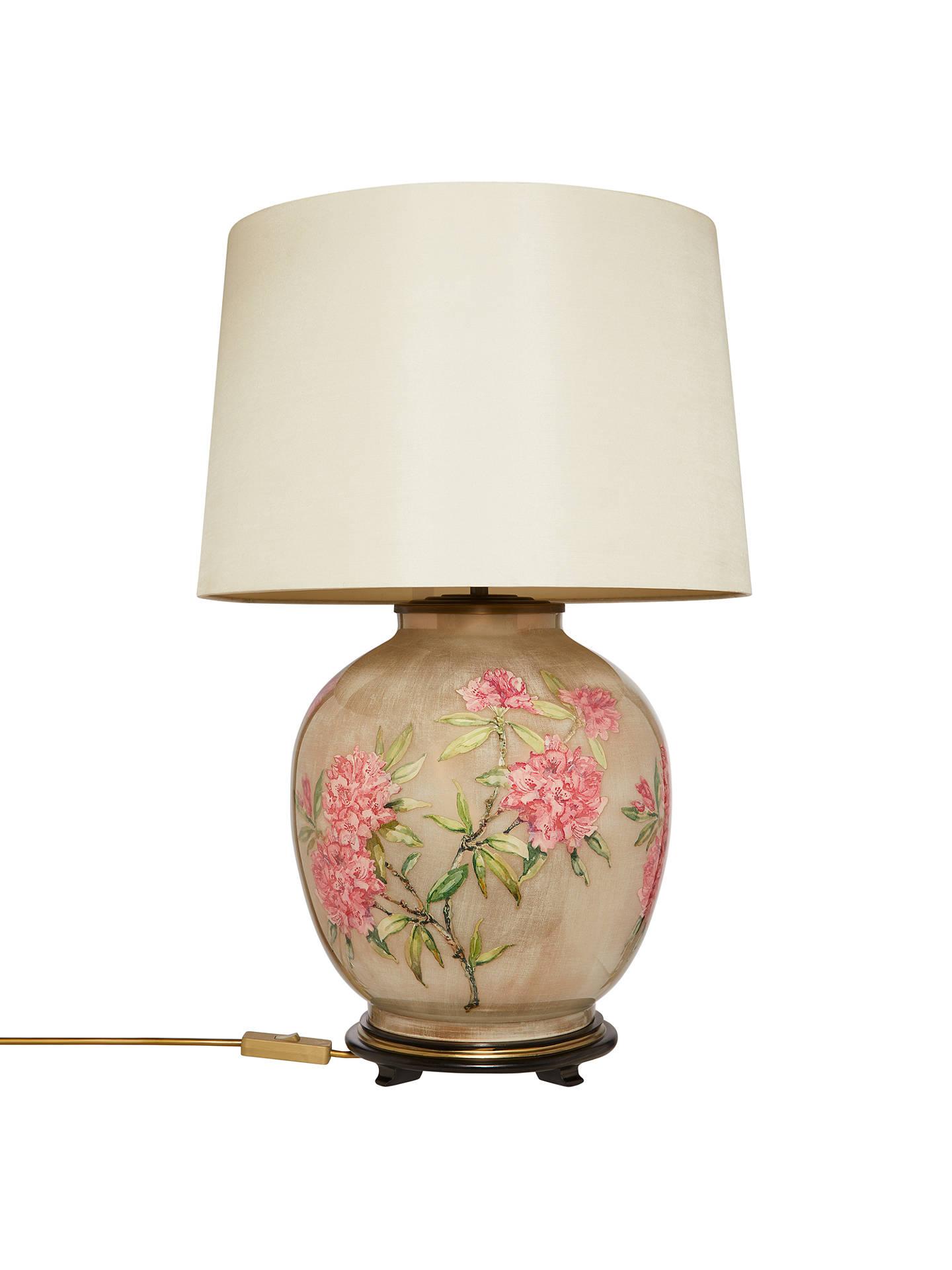 Jenny Worrall Large Flower Lamp Base Pink At John Lewis Partners