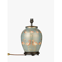 Buy Jenny Worrall Flamingo Lamp Base, Blue Online at johnlewis.com