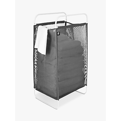 Umbra Cinch Laundry Hamper, Grey Charcoal